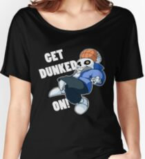 Sans - Undertale - GET DUNKED ON! Women's Relaxed Fit T-Shirt