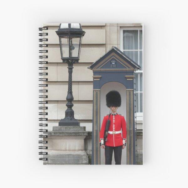 Queen's Guard Spiral Notebook