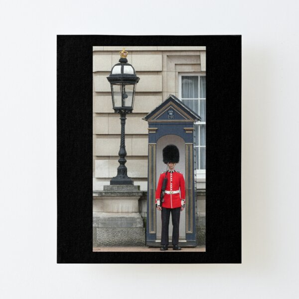 Queen's Guard Canvas Mounted Print