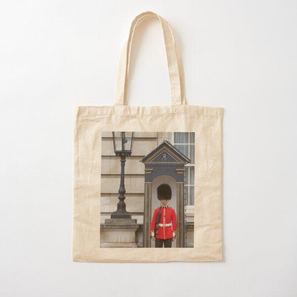 Queen's Guard Cotton Tote Bag