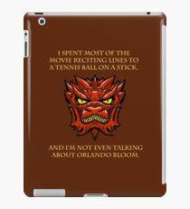 Smaug Quotes-Colbert Report- Orlando Bloom iPad Case/Skin
