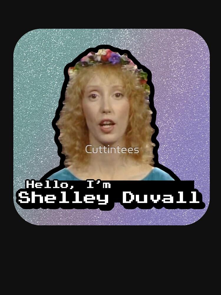 Hello, I'm Shelley Duvall by Cuttintees