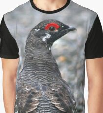 Maine Spruce Grouse 20 Graphic T-Shirt