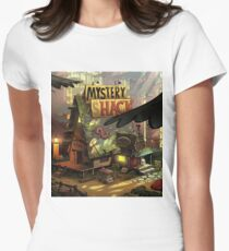 Mystery shack Women's Fitted T-Shirt