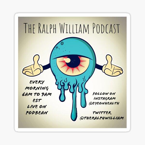 Ralph William Podcast x Eyeonhealth Sticker