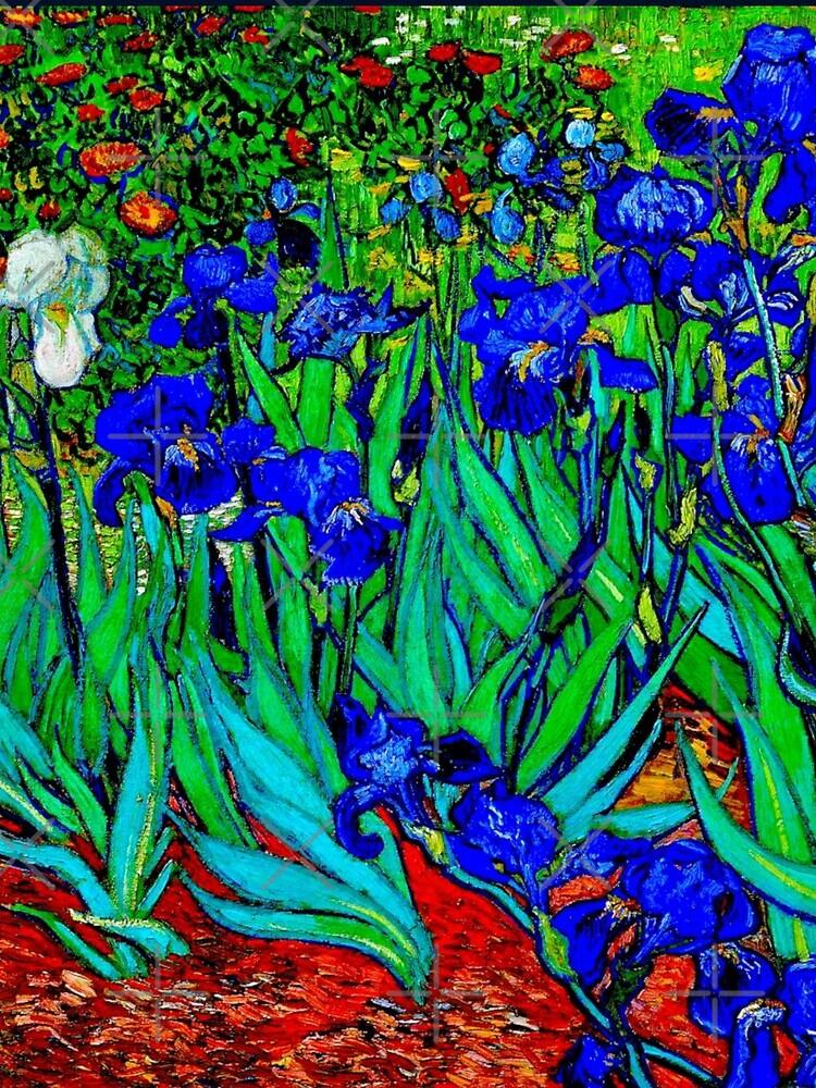 """Irises"" by Vincent van Gogh | van Gogh Fine Art by Gascondi"