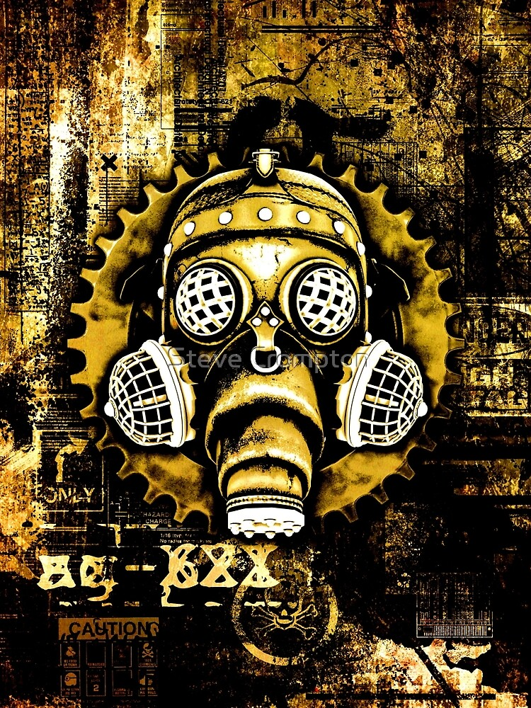 Steampunk / Cyberpunk Gas Mask by SC001