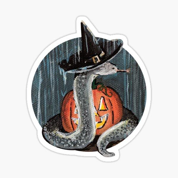 Spooky Rain Snake Sticker