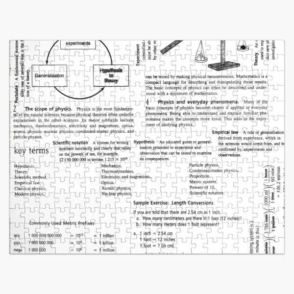 General #Physics. Chapter 1. Physics, the Fundamental #Science #GeneralPhysics #FundamentalScience  Jigsaw Puzzle