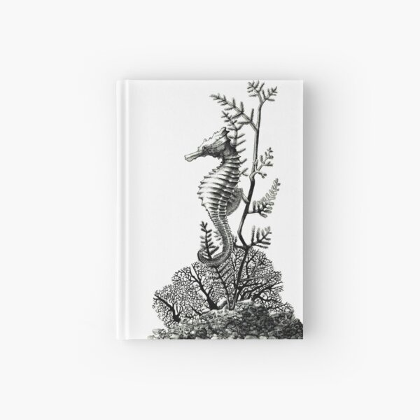 Pacific Sea Horse Hardcover Journal