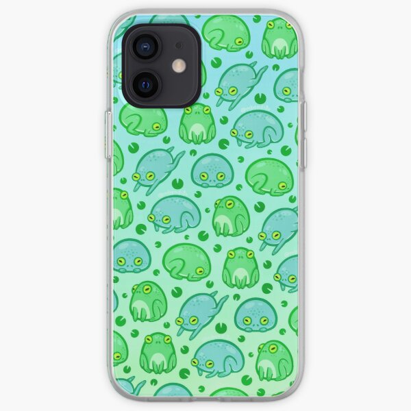 Friendly Frogs iPhone Soft Case