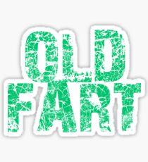 OLD FART Sticker