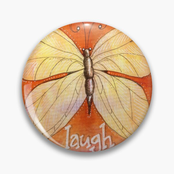 Laughter of a Butterfly Pin