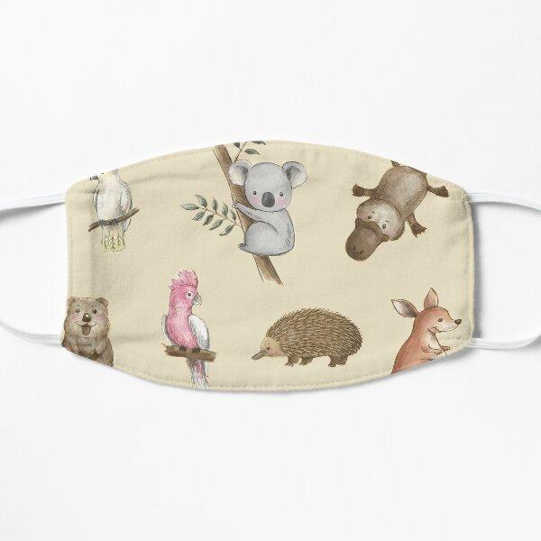 Cute Aussie Animals Pack Flat Mask