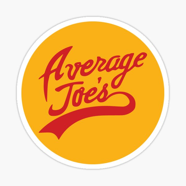 Average Joe's Gymnasium Sticker