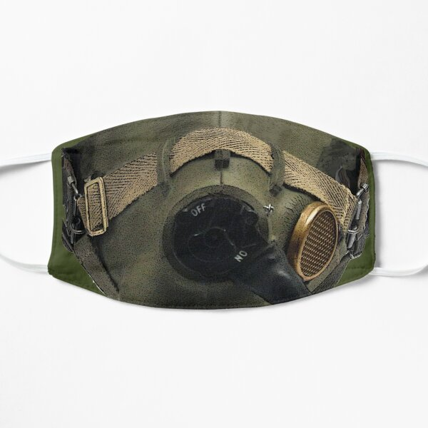 WWII Pilot's Oxygen Mask Flat Mask