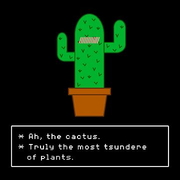 Tsundere Cactus (Undertale) by fawtytwo