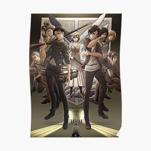 Shingeki No Kyojin Poster Poster
