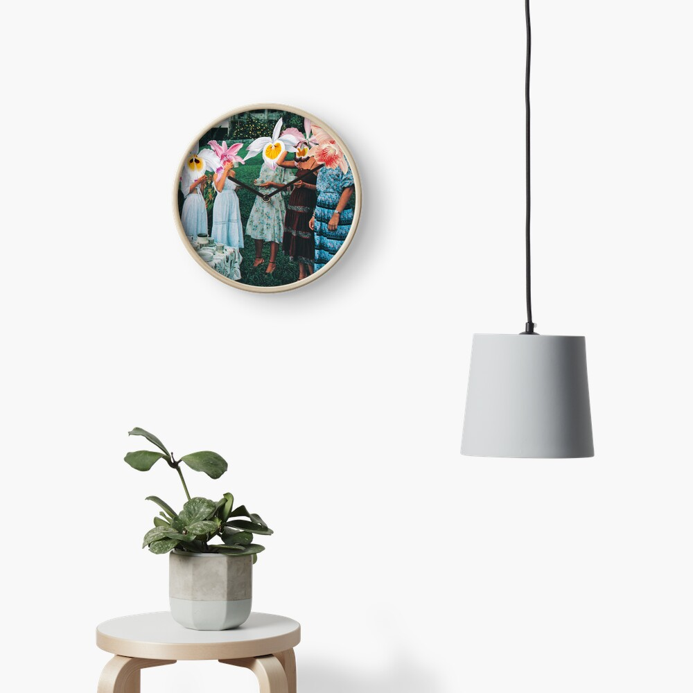 Conversing With The Wildflowers Clock