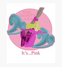 It's... Pink Photographic Print