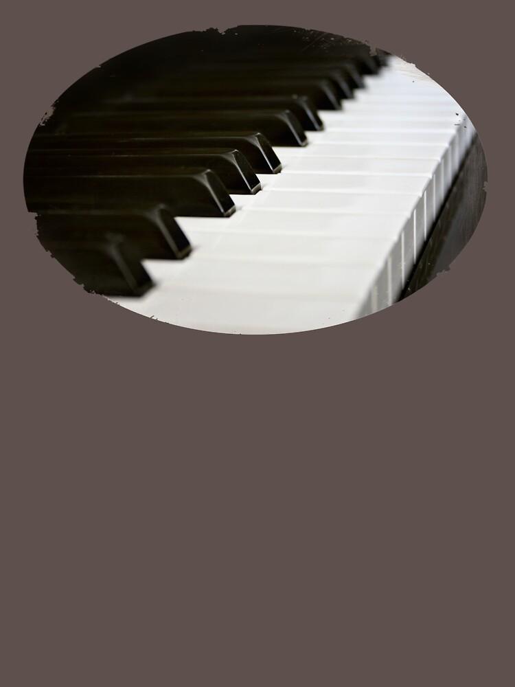 Piano Keys  by InspiraImage