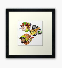 Someone asked for a duet?  Framed Print