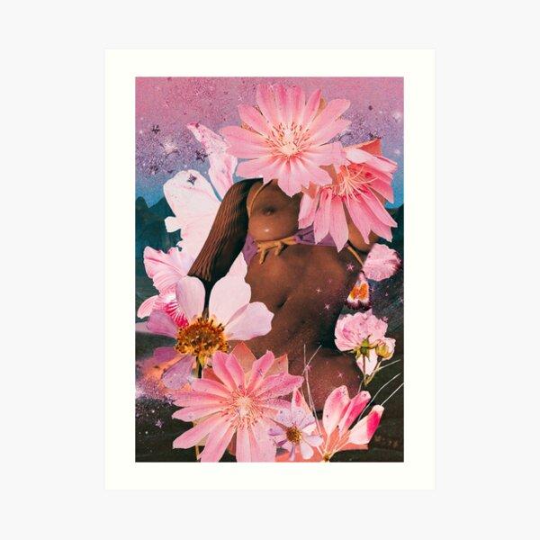 Flowah Powah Art Print