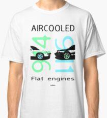 aircooled flat6 engines colored 4 Classic T-Shirt