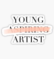 YOUNG ARTIST Sticker