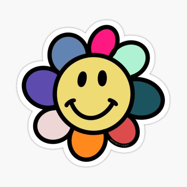 Original Happy Daisy Sticker