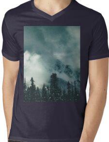 Mountain Majesty Mens V-Neck T-Shirt