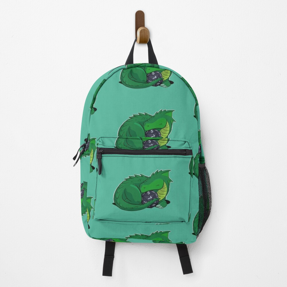 D20 Green Dragon Backpack