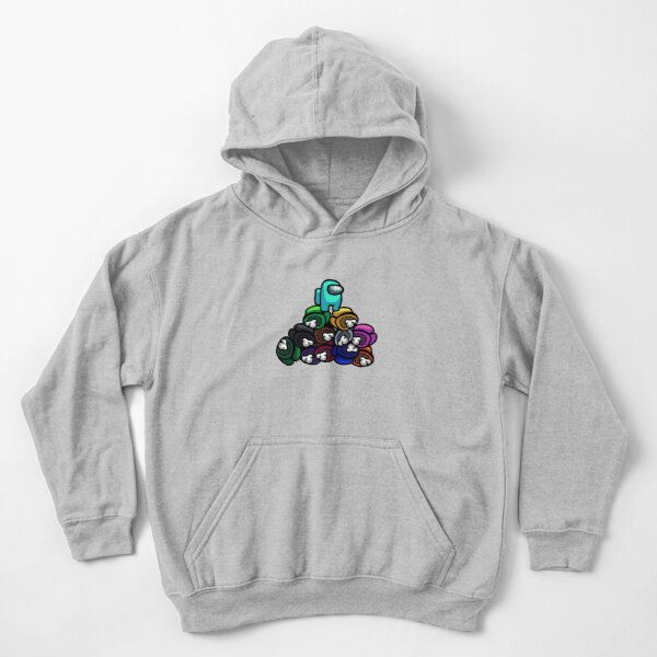 Among Us - Pile of Dead Crewmates Kids Pullover Hoodie