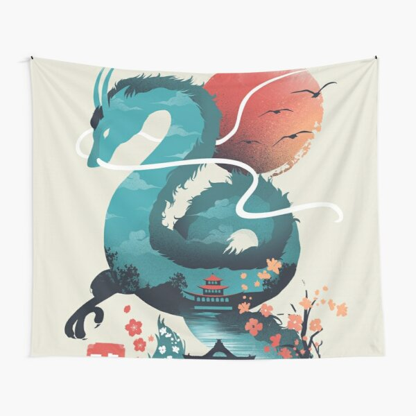 The Dragon Myth Away Tapestry
