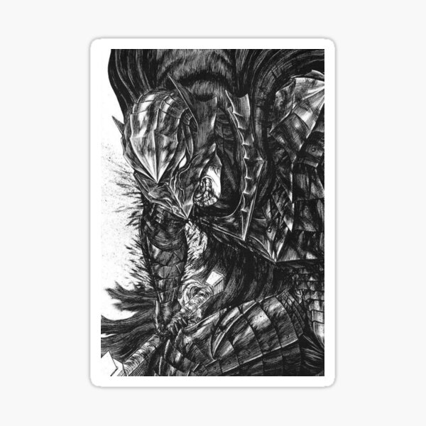 Guts (Berserk) Sticker