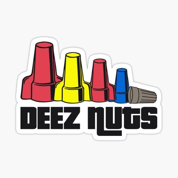 Deez Nuts Electrician Sticker