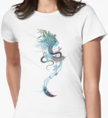 Journeying Spirit (ermine) Womens Fitted T-Shirt