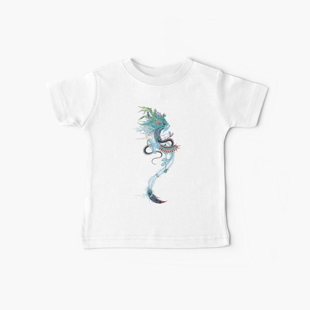 Espíritu de viaje (armiño) Camiseta para bebés
