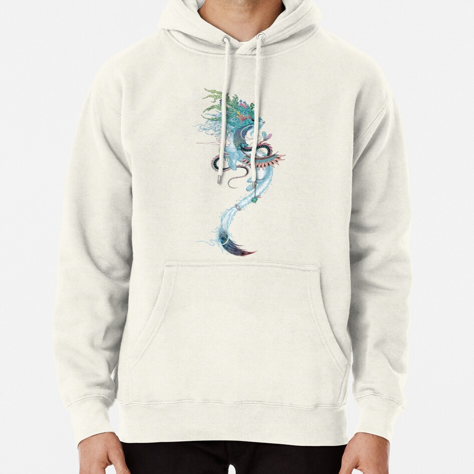 Journeying Spirit (ermine) Pullover Hoodie