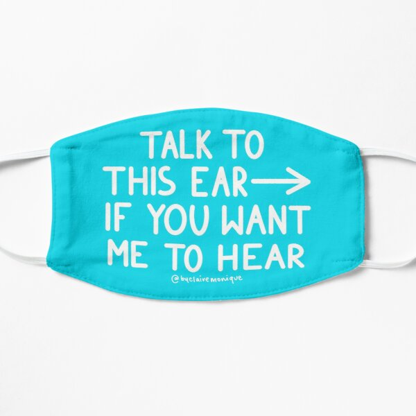 Talk to the Ear Right Sided Deafness SSD Mask