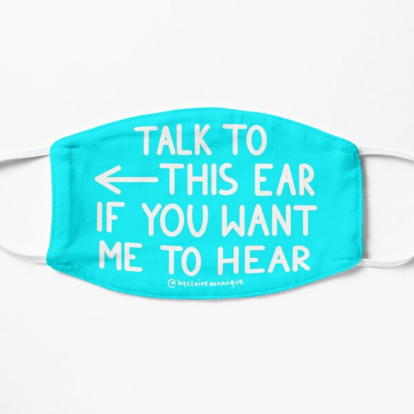 Talk to the Ear Left Sided Deafness SSD Mask