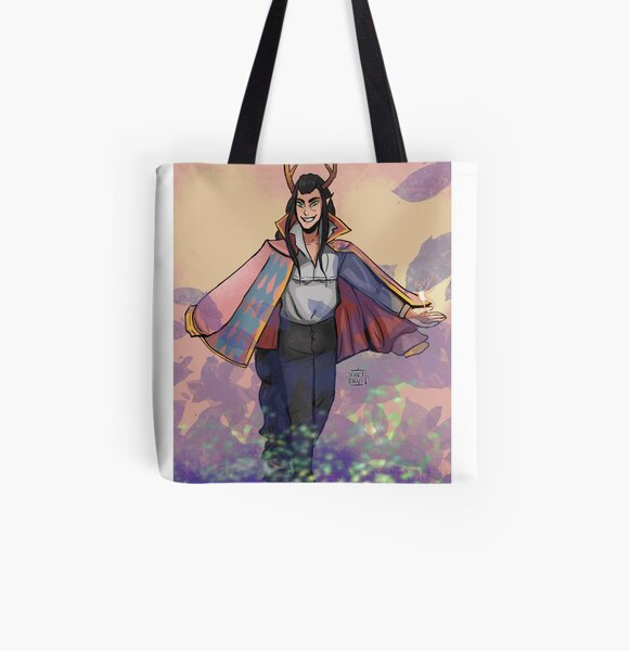 Tivs Moving Castle All Over Print Tote Bag