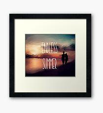 The Endless Summer  Framed Print