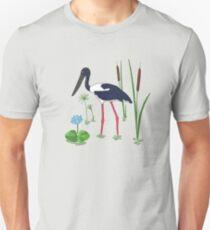 JABIRU - Black-Necked Stork T-Shirt