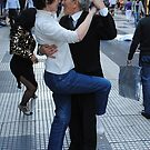 Tango lesson by Maggie Hegarty