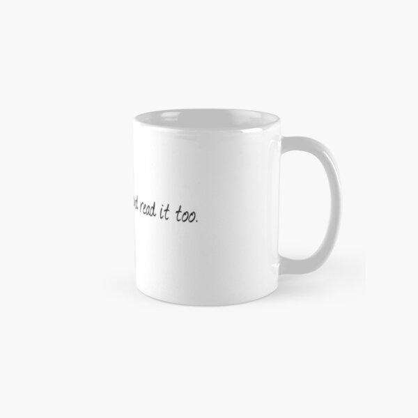 Bookish stuff. Classic Mug
