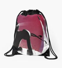 Le Géant de Fer Drawstring Bag