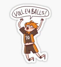 HAIKYUU HINATA SHOUYOU VOLLEYBALLS Sticker