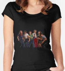That '70s Show Gang Women's Fitted Scoop T-Shirt