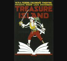 Vintage poster - Treasure Island Unisex T-Shirt